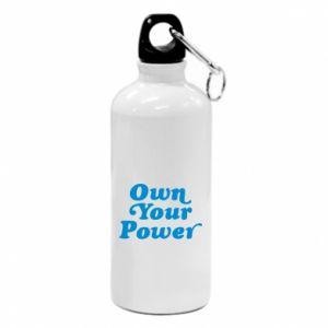 Bidon turystyczny Own your power