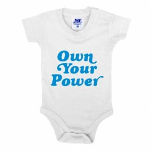 Baby bodysuit Own your power