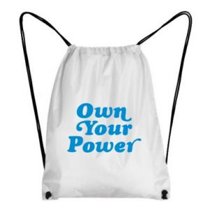 Backpack-bag Own your power
