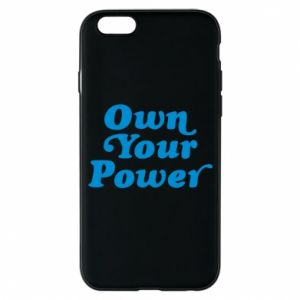 Etui na iPhone 6/6S Own your power