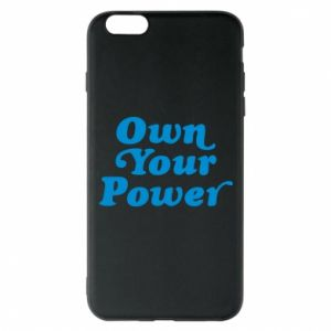 Etui na iPhone 6 Plus/6S Plus Own your power