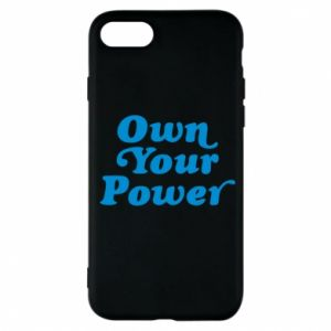 Etui na iPhone 7 Own your power