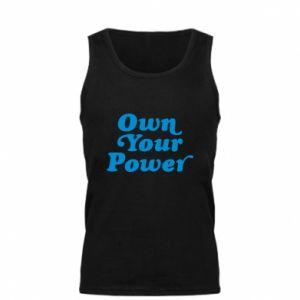 Męska koszulka Own your power