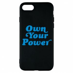 Etui na iPhone 8 Own your power