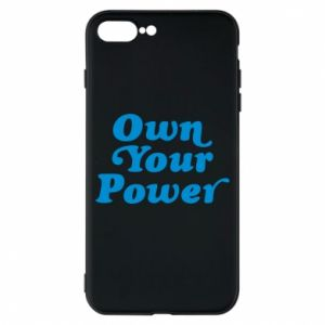 Etui na iPhone 8 Plus Own your power