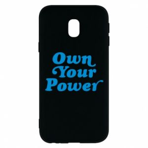 Phone case for Samsung J3 2017 Own your power