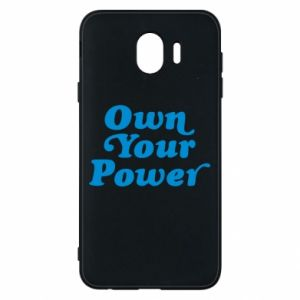 Phone case for Samsung J4 Own your power