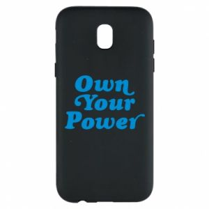 Phone case for Samsung J5 2017 Own your power