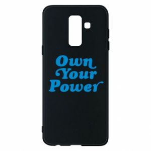 Phone case for Samsung A6+ 2018 Own your power