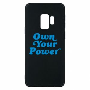 Phone case for Samsung S9 Own your power