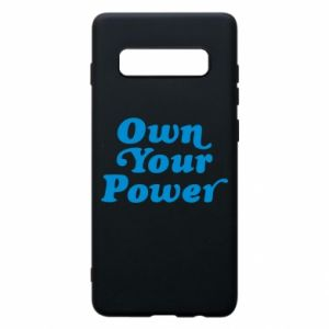 Phone case for Samsung S10+ Own your power
