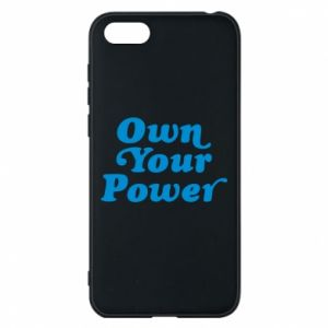Etui na Huawei Y5 2018 Own your power