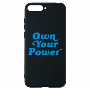 Etui na Huawei Y6 2018 Own your power
