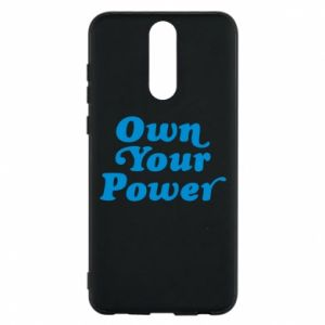Phone case for Huawei Mate 10 Lite Own your power