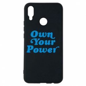 Etui na Huawei P Smart Plus Own your power