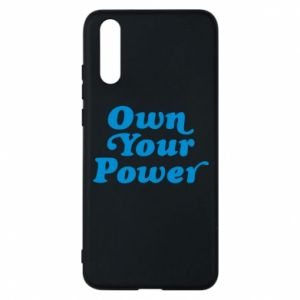 Etui na Huawei P20 Own your power