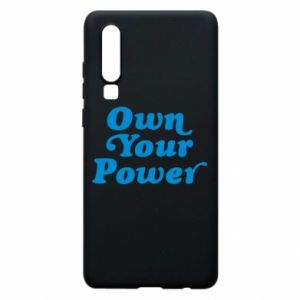 Etui na Huawei P30 Own your power