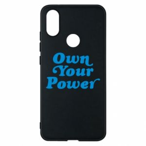 Phone case for Xiaomi Mi A2 Own your power