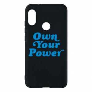 Phone case for Mi A2 Lite Own your power
