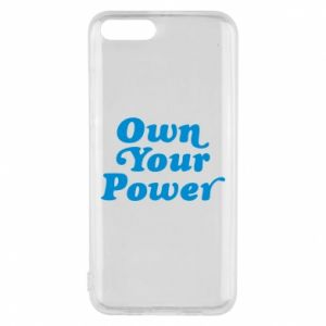 Phone case for Xiaomi Mi6 Own your power