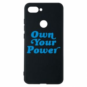 Phone case for Xiaomi Mi8 Lite Own your power