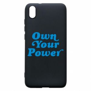 Phone case for Xiaomi Redmi 7A Own your power