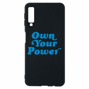 Phone case for Samsung A7 2018 Own your power