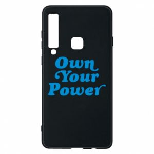 Phone case for Samsung A9 2018 Own your power