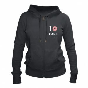 Women's zip up hoodies Donut