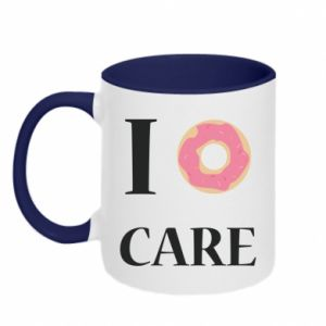 Two-toned mug Donut