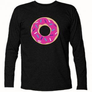 Koszulka z długim rękawem Pączek - PrintSalon