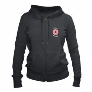 Women's zip up hoodies Donut