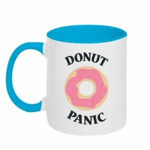 Two-toned mug Donut