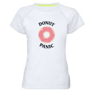 Women's sports t-shirt Donut