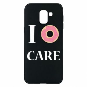 Phone case for Samsung J6 Donut