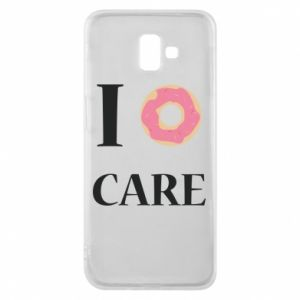 Phone case for Samsung J6 Plus 2018 Donut