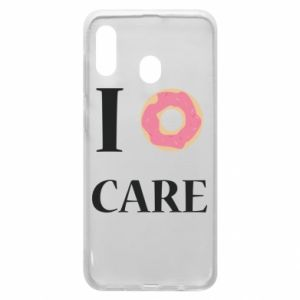 Phone case for Samsung A30 Donut