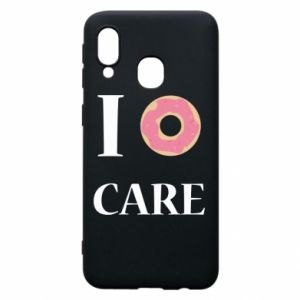 Phone case for Samsung A40 Donut
