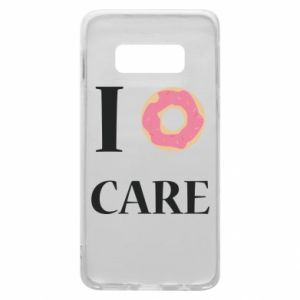 Phone case for Samsung S10e Donut