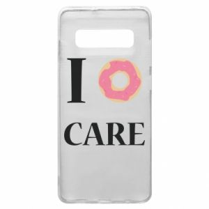 Phone case for Samsung S10+ Donut