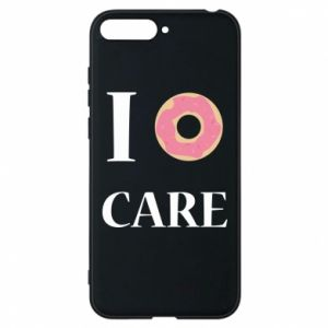 Phone case for Huawei Y6 2018 Donut
