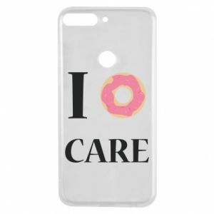 Phone case for Huawei Y7 Prime 2018 Donut