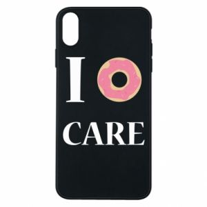 Phone case for iPhone Xs Max Donut