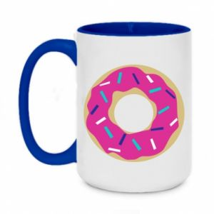 Two-toned mug 450ml Donut