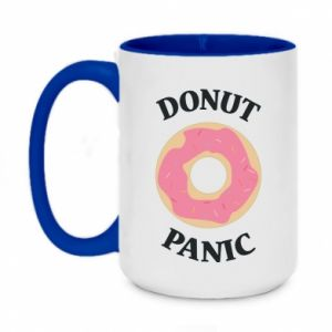 Two-toned mug 450ml Donut