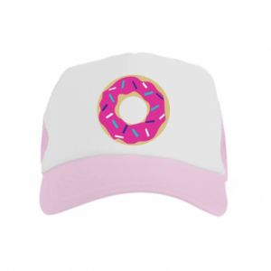 Kid's Trucker Hat Donut