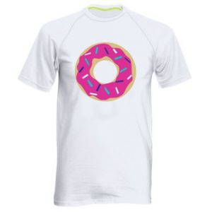 Men's sports t-shirt Donut
