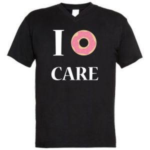 Men's V-neck t-shirt Donut