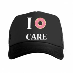 Trucker hat Donut