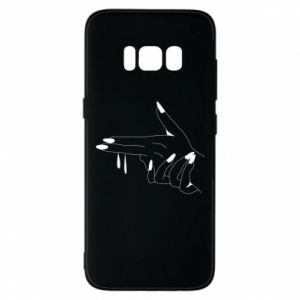 Etui na Samsung S8 Palce z pistoletem